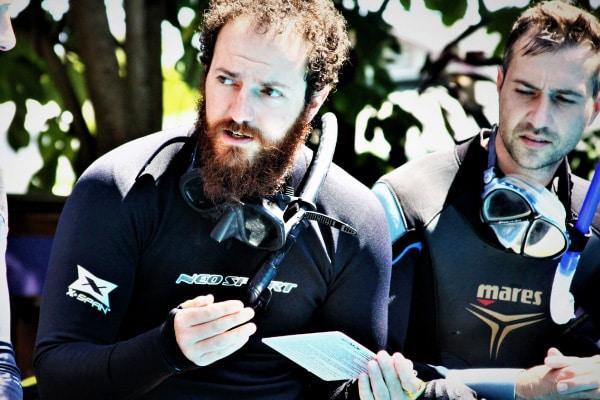 Master Scuba Diver Trainer course Utila Central America