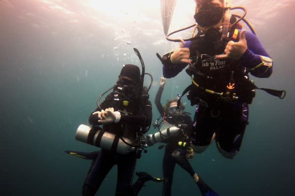 PADI MSDT specialty Instructor training and internships