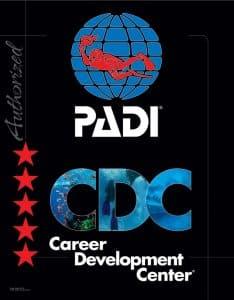 PADI 5 STAR CAREER DEVELOPMENT CENTER UTILA DIVE CENTRE PROFESSIONAL TRAINING