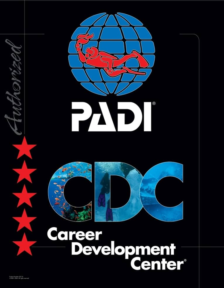 PADI 5 STAR CAREER DEVELOPMENT CENTER UTILA DIVE CENTRE PROFESSIONAL TRAINING