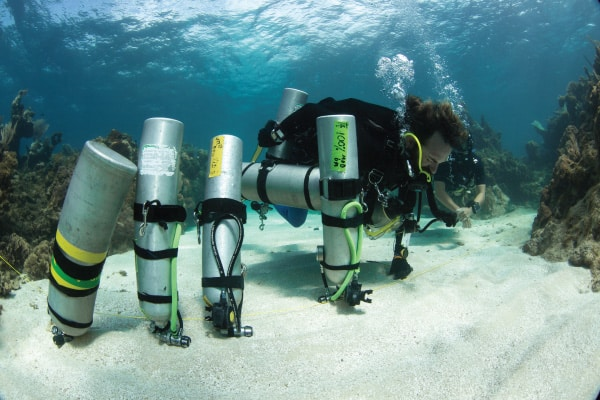 Technical Diving Tec Trimix Instructor course Utila Caribbean Central America