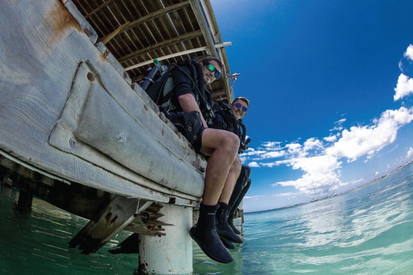 PADI Open Water/Advanced Rebreather Course Utila Bay Islands Honduras