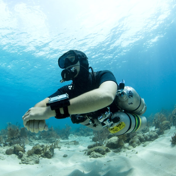 PADI Technical Diving courses Utila Honduras Central America