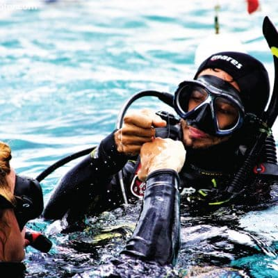 PADI MSDT Master Scuba Diver Trainer Internship Utila Bay Islands Honduras